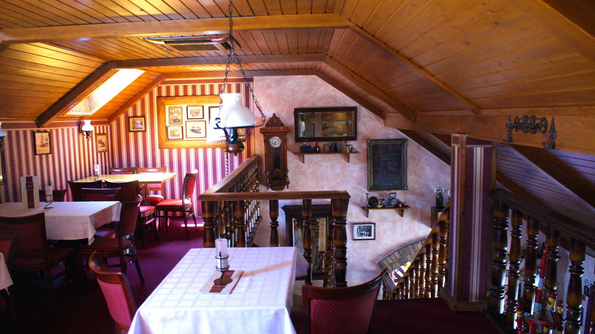 Anno Taverna étterem - emelet